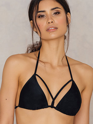 NA-KD Swimwear Triangle Strap Top