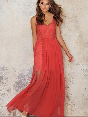 Line & Dot Azure Maxi Dress