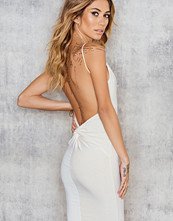 Luxe Fashion Label Knotted Low Back Dress
