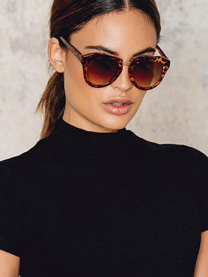 Solglasögon - NA-KD Accessories Edgy Turtle Sunglasses