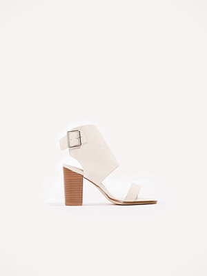 Pumps & klackskor - NA-KD Shoes Heeled Buckle Sandals