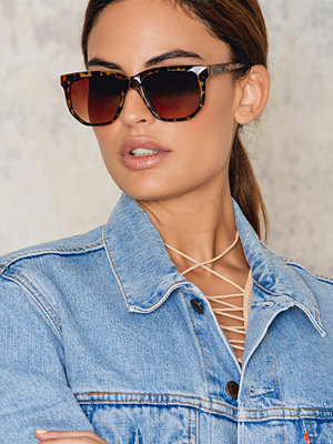 Solglasögon - NA-KD Accessories Turtle Sunglasses
