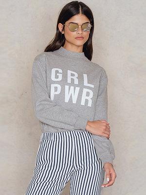 Josefin Ekstrom for NA-KD GRL PWR Sweatshirt