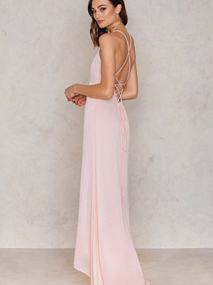 Girl & The Sun Luna Tie Back Maxi Dress