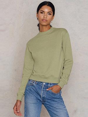NA-KD Basic Basic Sweater grön