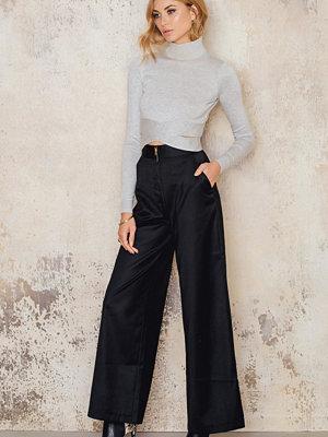 IMVEE High Waist Front Zipper Pants