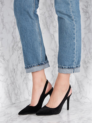 Pumps & klackskor - NA-KD Shoes Velvet Sling Back Pumps