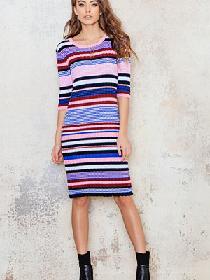 NA-KD Trend Knitted Colorful Striped Dress