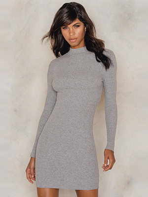 Rut & Circle Clara rib ls dress