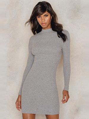 Rut & Circle Clara rib ls dress