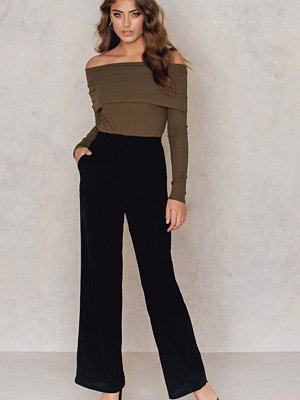 NA-KD Trend Flared High Waist Pants