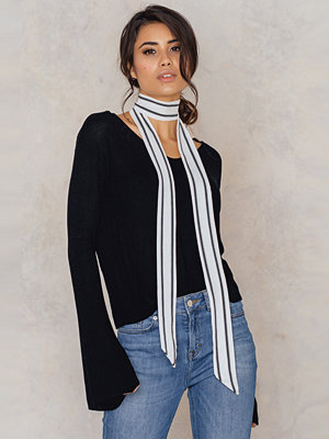 NA-KD Accessories Pinstriped Skinny Scarf