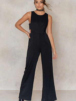 Glamorous Side Strap Boot Cut Jumpsuit