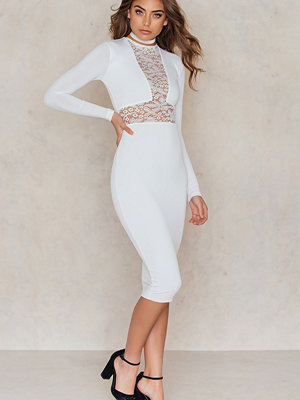 Nookie Rebel Heart Long Sleeve Midi Dress
