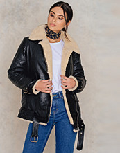 Jackor - IMVEE Loose Leather Jacket