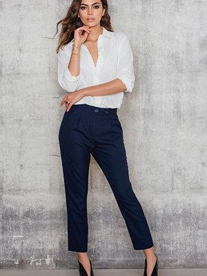 SanneAlexandra Navy Pants