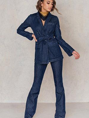 Jumpsuits & playsuits - SanneAlexandra Denim Bootcut Pants blå