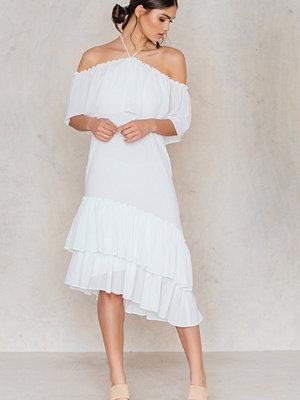 Tranloev Asymmetric Frill Dress