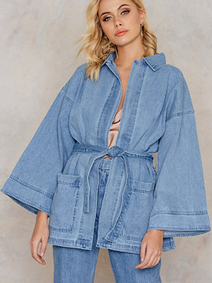 NA-KD Trend Denim Kimono