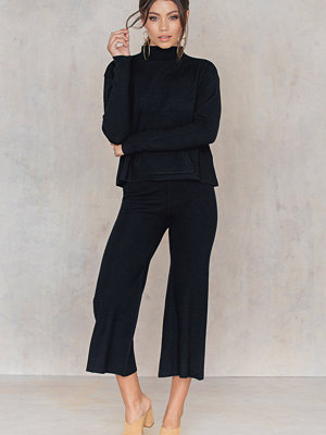 NA-KD Knitted Culotte Pants