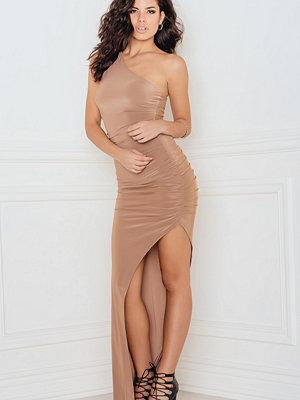 Rebecca Stella One Shoulder Slinky Maxi Dress - Maxiklänningar
