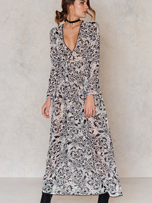 For Love & Lemons Gracie Maxi Dress