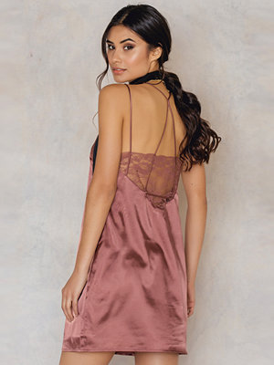Glamorous Racer Back Satin Cami Dress