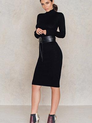 IMVEE Ribbed Stretch Polo Dress