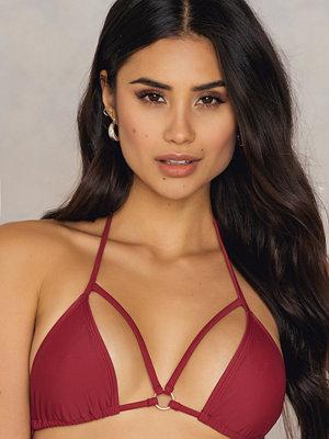 Rebecca Stella Triangle Double Strap Bikini Top
