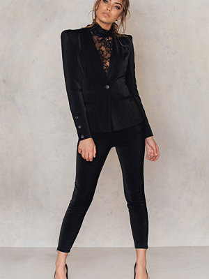 Rebecca Stella Midnight Zip Pants