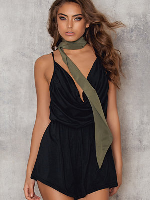 Roser Coloured Draped Romper