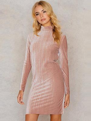 Lioness Dolce Velvet Pleat Mini Dress