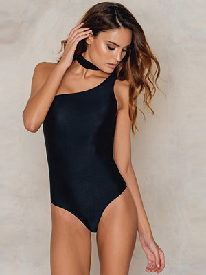 NA-KD Swimwear One Shoulder Swimsuit
