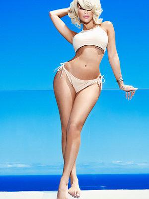 Rebecca Stella High Neck Bikini Top - Bikini