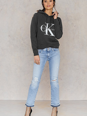 Jeans - Calvin Klein MR Straight Cropped Jeans