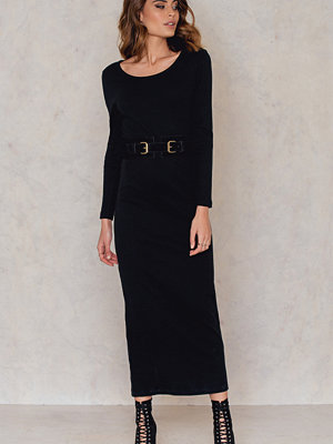 Rut & Circle Thilda long rib dress
