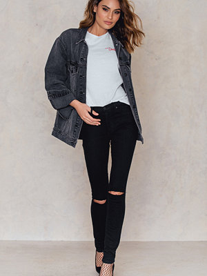 Jeans - Sally & Circle Olivia Black Cut