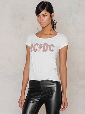 Amplified ACDC Ladies Classic Logo T-Shirt