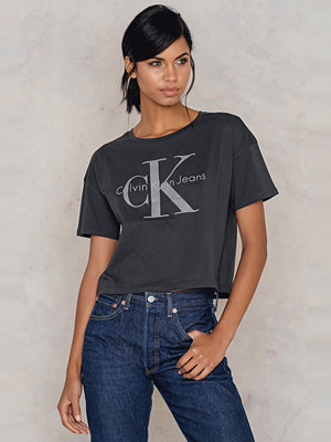 Calvin Klein Teca True Icon Cropped Top