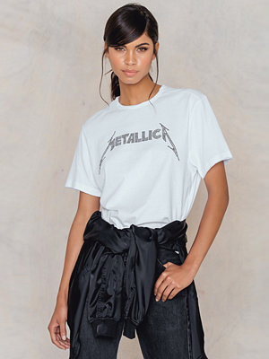 Amplified Metallica Logo Diamante T-Shirt