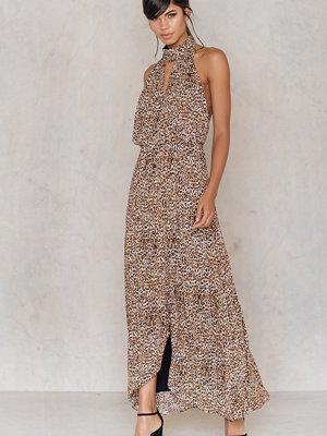 Free People Animal Instincts Printed Dress