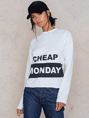 Tröjor - Cheap Monday Coach Block Logo Sweat