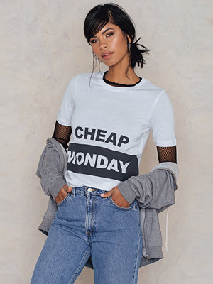 Cheap Monday Break Block Logo Tee