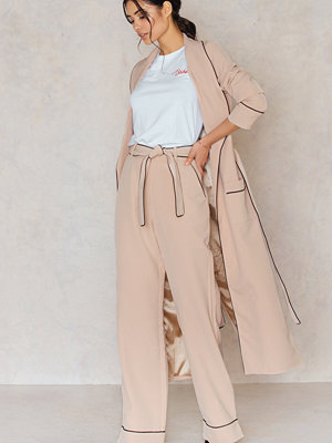 Byxor - Lavish Alice Pyjama Belted Wide Leg Trousers