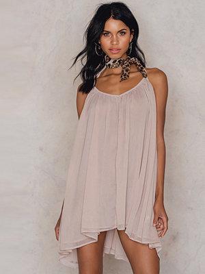 NA-KD Boho Thin Strap Chiffon Dress - Miniklänningar