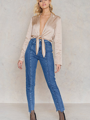 Jeans - NA-KD Trend Panel Jeans