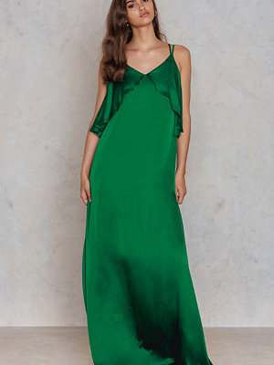 Trendyol Frill Strap Maxi Dress