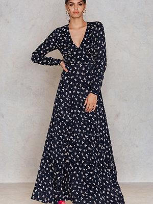 Glamorous Dotted Long Dress