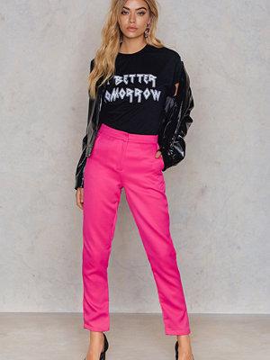 Glamorous rosa byxor Straight Ankle Pants