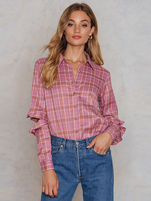 Glamorous Distressed Sleeve Shirt